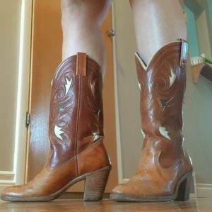 Dingo Leather Boots size 7.5